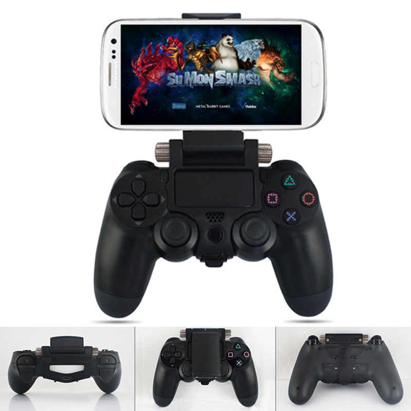 smart phone support de montage stand titulaire pour sony ps4 manette jeu neuf. Black Bedroom Furniture Sets. Home Design Ideas