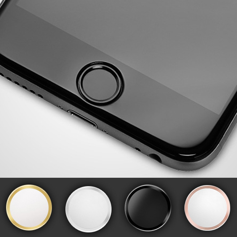 iphone button stickers support touch id home button fingerprint sticker for apple 11667