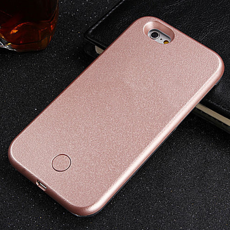 iphone led case luxury 2016 led light up selfie phone back cover for 11984