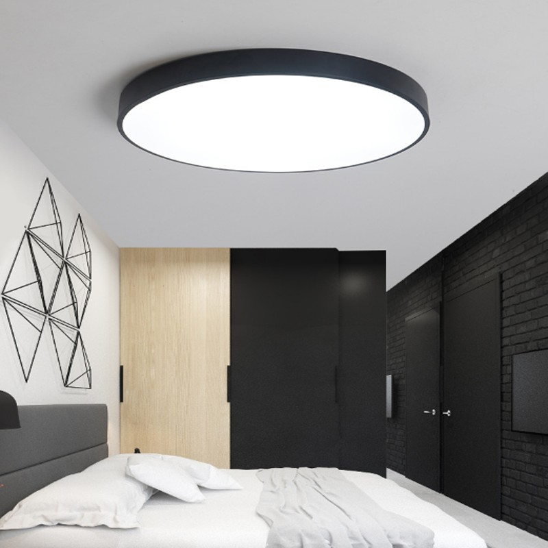 24W LED Ceiling Light Round Flush Mount Fixture