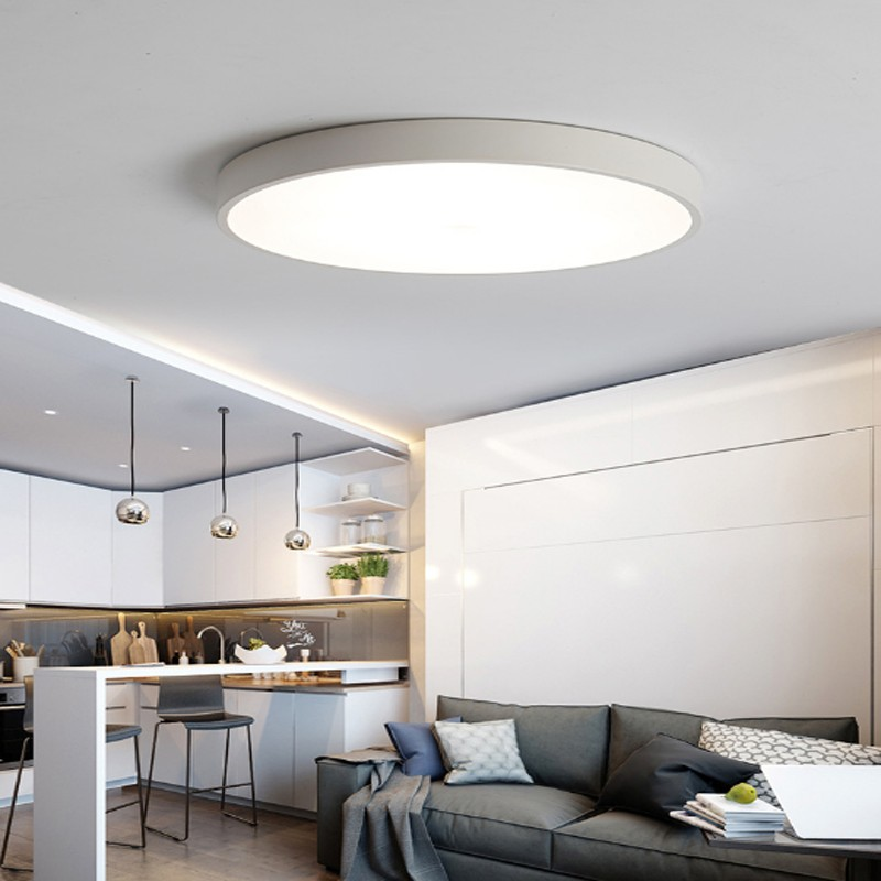 Bright 24W Round LED Ceiling Down Light Panel Wall Kitchen
