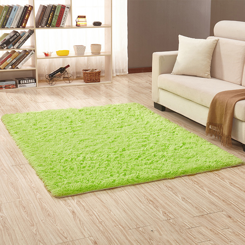 small bedroom rugs uk new soft plain shaggy mats washable non slip large small 17197