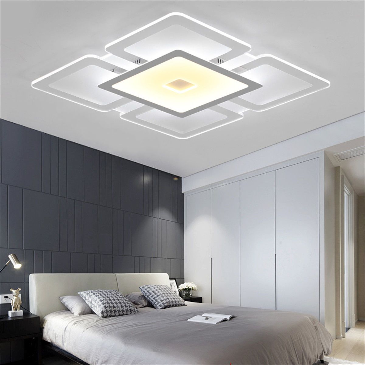 Modern-Ultra-Thin-LED-Square-Acrylic-Flush-Mount-Ceiling-Light-Wall-Sconces-Lamp