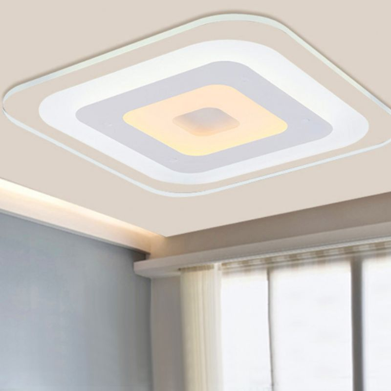 Modern LED Panel Ceiling Light 36W Bathroom Kitchen Living