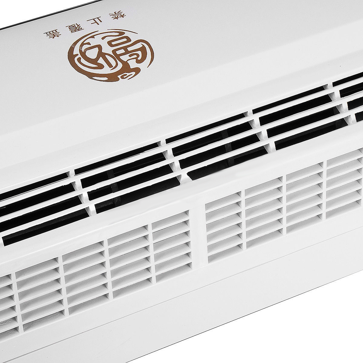 2000w Wall Mounted Air Conditioner Heater Fan Heating Room
